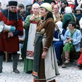 Фестиваль костюма в Выборге - фото 6